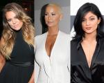 Khloé Kardashina, Amber Rose e Kylie Jenner: barraco online