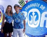 Yasmin Brunet e o namorado Evandre Soldati