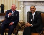 Príncipe Charles mostrando que inglês também tem seu charme...