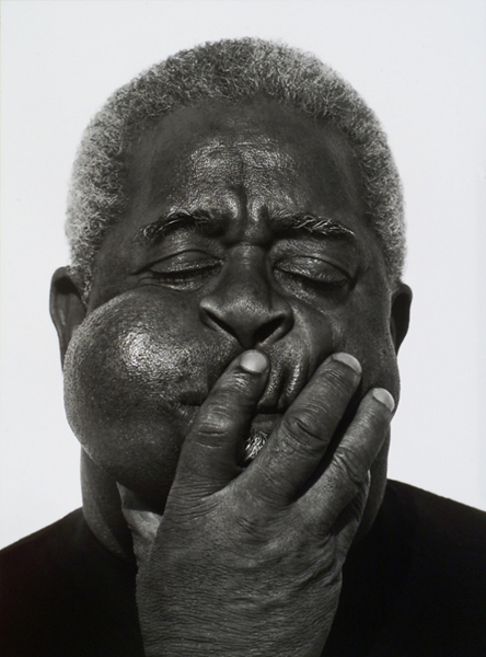 Dizzy Gillespie, Paris, 1989, do fotógrafo Herb Ritts