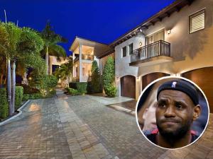 Mansão de astro da NBA à venda em Miami empaca no mercado