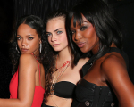 Cara Delevingne, Naomi e Rihanna as ex-melhores amigas