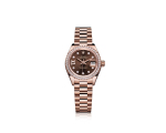 LADY-DATEJUST 28 - OURO EVEROSE