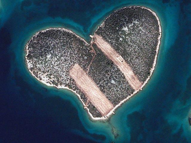 Galešnjak Island, Croatia