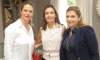 Heloisa Betty, Rosana Saad e Luciana Cerri