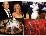O baile de gala da amfAR teve Cher, Kate Moss e Amora, a lhama do anfitrião Dinho Diniz
