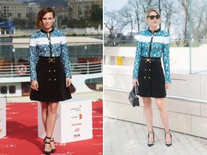 Mesmos looks, celebridades diferentes. Quem veste melhor?