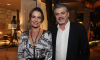 Patricia Naves e Fabrizio Giannone