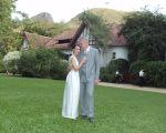 Maria Prata e Pedro Bial, agora oficialmente marido e mulher