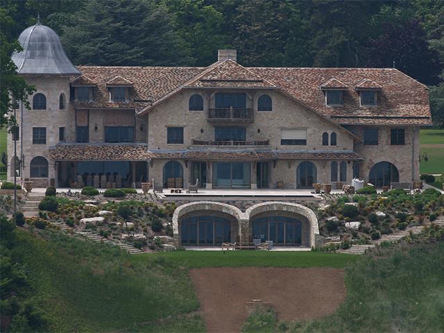 Casa da família em Gland, na Suíça || Créditos: Getty Images