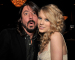 (EXCLUSIVE, Premium Rates Apply) BEVERLY HILLS, CA - FEBRUARY 09:  Musician Dave Grohl and Taylor Swift during the 2008 Clive Davis Pre-GRAMMY party at the Beverly Hilton Hotel on February 9, 2008 in Los Angeles, California.  (Photo by Lester Cohen/WireImage) *EXCLUSIVE*