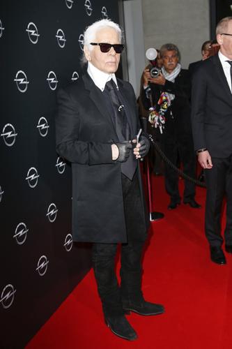 Karl Lagerfeld e sua pequena lista do que não gosta      Créditos: Getty Images