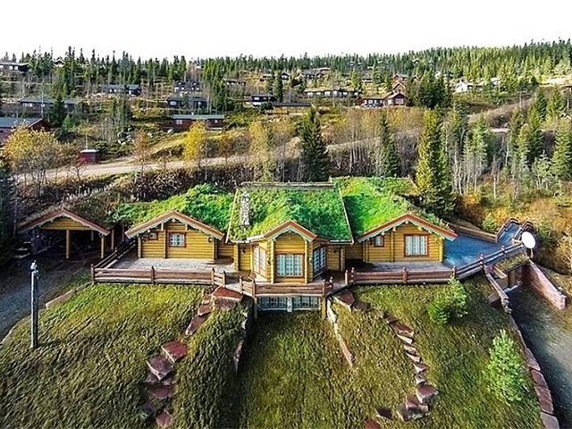 Casa de Michael Schumaquer na Noruega, vendida no início deste ano || Créditos: Getty Images