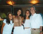 Wunder, Paulette e as filhas, Carolina e Mariana: vivendo de aparências