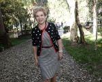 Marta Suplicy vive domingo de samba n pé