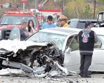 Caitlyn Jenner sofreu - ou causou - um acidente de carro nesse domingo em Malibu