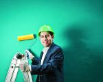 Retrato de David Pinto, presidente do grupo Resolve Franchising. Foto: Letícia Moreira/ PODER