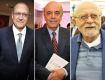 Geraldo Alckmin, José Serra e Alberto Goldman || Créditos: Paulo Freitas