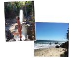 Sabrina curte férias em Malibu