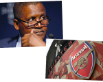 Aliko Dangote e Arsenal Stadium