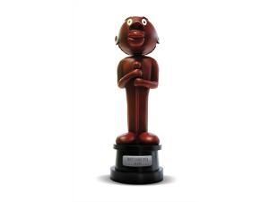 Ziraldo homenageia Grande Otelo criando troféu estilizado do ator