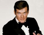 O agente 007 interpretado por Roger Moore