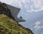 O Messner Mountain Museum, nos alpes italianos