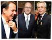 Andrea Matarazzo, Geraldo Alckmin e João Doria || Créditos: Paulo Freitas