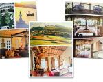 Algumas imagens do livro de Udaipur (Índia), Montacilno (Itália) e Iha de Bazaruto (Quênia)