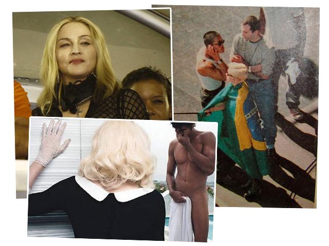 Madonna deixou rastros em suas passagens pelo Brasil:  || Créditos: