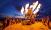 O fotógrafo NK Guy registra o Burning Man desde 1998
