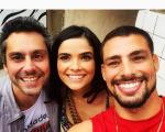 cauareymondCom @alexandrenero e @vgiacomooficial Meus parceiros super talentosos estão dando Show !!!! :))))