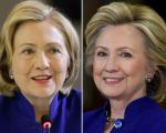 O antes e depois de Hillary Clinton