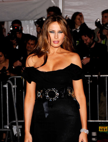 NEW YORK - MAY 04:  Melania Trump attends