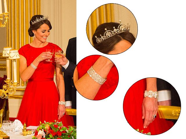 Os detalhes do lokk de Kate Middleton