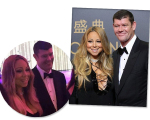 Mariah Carey e James Parker na inauguração do resort na China