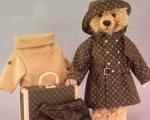 Ursinho da Steiff feito pela Louis Vuitton