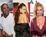Jay Z, Rihanna e Beyoncé: triângulo poderoso
