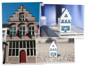 KLM lança miniatura da Hamel House para comemorar seus 96 anos