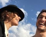 Camila Pitanga e Igor Angelkorte: só sorrisos!