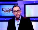 O jornalista Casemiro Neto noticiou ao vivo , durante seu programa