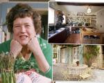 A casa onde a apresentadora e chef de cozinha Julia Child viveu