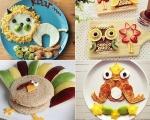 Comidinhas divertidas para os pequenos