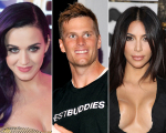 Katy Perry, Tom Brady e Kim Kardashian: o tempo faz bem!