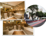 O banheiro de  luxo é o novo  point da Oscar Freire