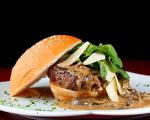 Hambúrguer do Meza Bar