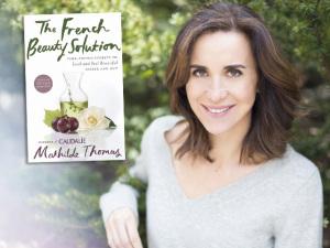 Mathilde Thomas, autora de The French Beauty Solution, o livro da Caudalie