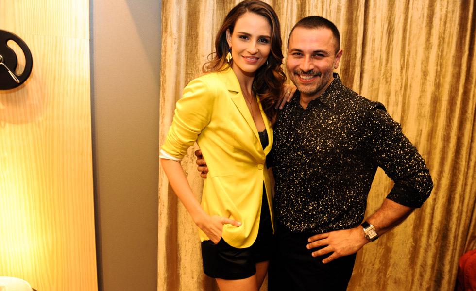 André Lima  e Fernanda Tavares