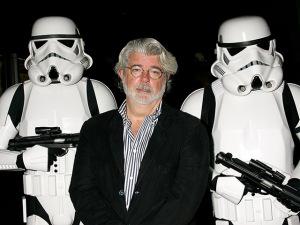"""George Lucas sai ganhando com bilheteria de """"O Despertar da Força"""""""