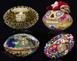 As bolas do Super Bowl customizadas por alguns estilistas e fashionistas